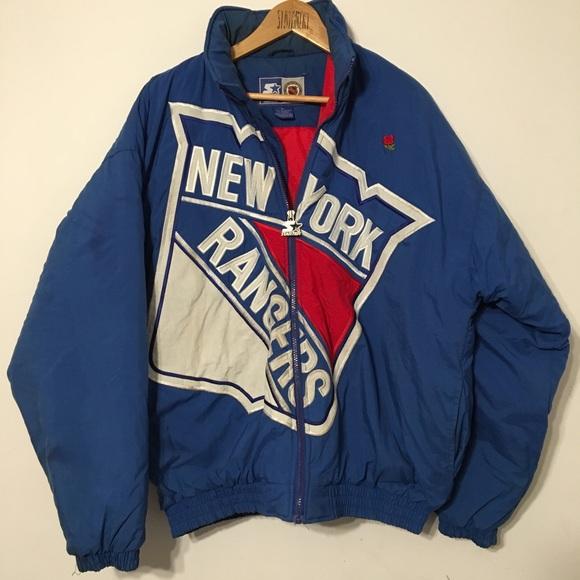 4c08c5a00 VINTAGE NEW YORK RANGERS STARTER ZIP NHL JACKET